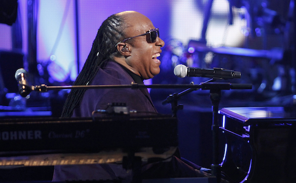Stevie WonderPicture: REUTERS/Danny Moloshok